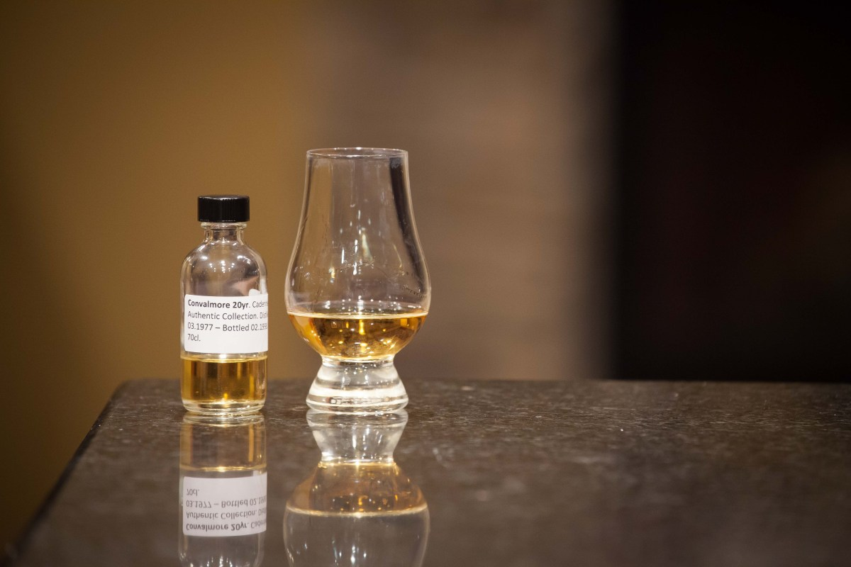 Convalmore 20 (Cadenhead Authentic Collection 1977/1998) Review