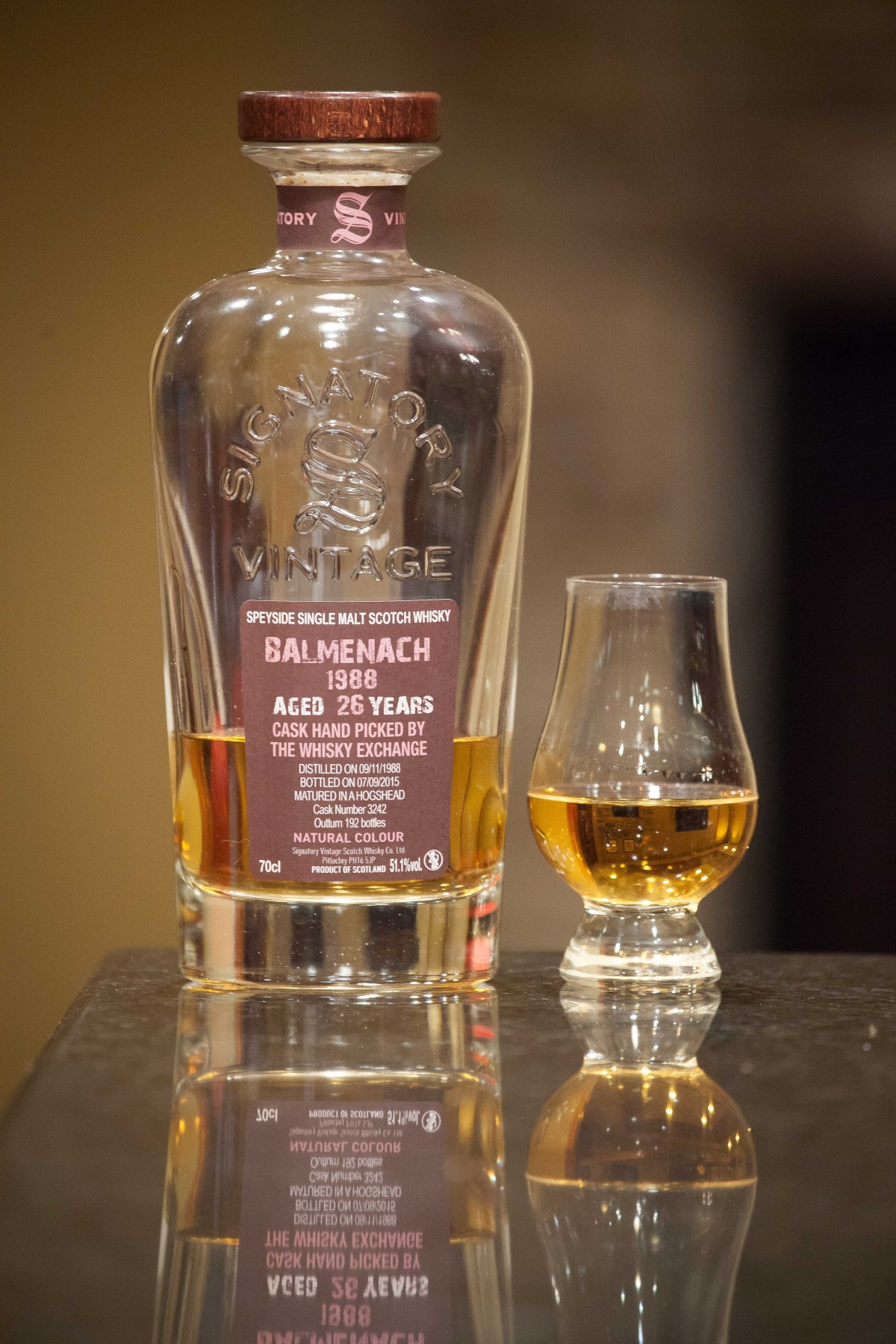 Balmenach 26 (Signatory Vintage TWE Selection 1988/2015 Cask #3242) Review