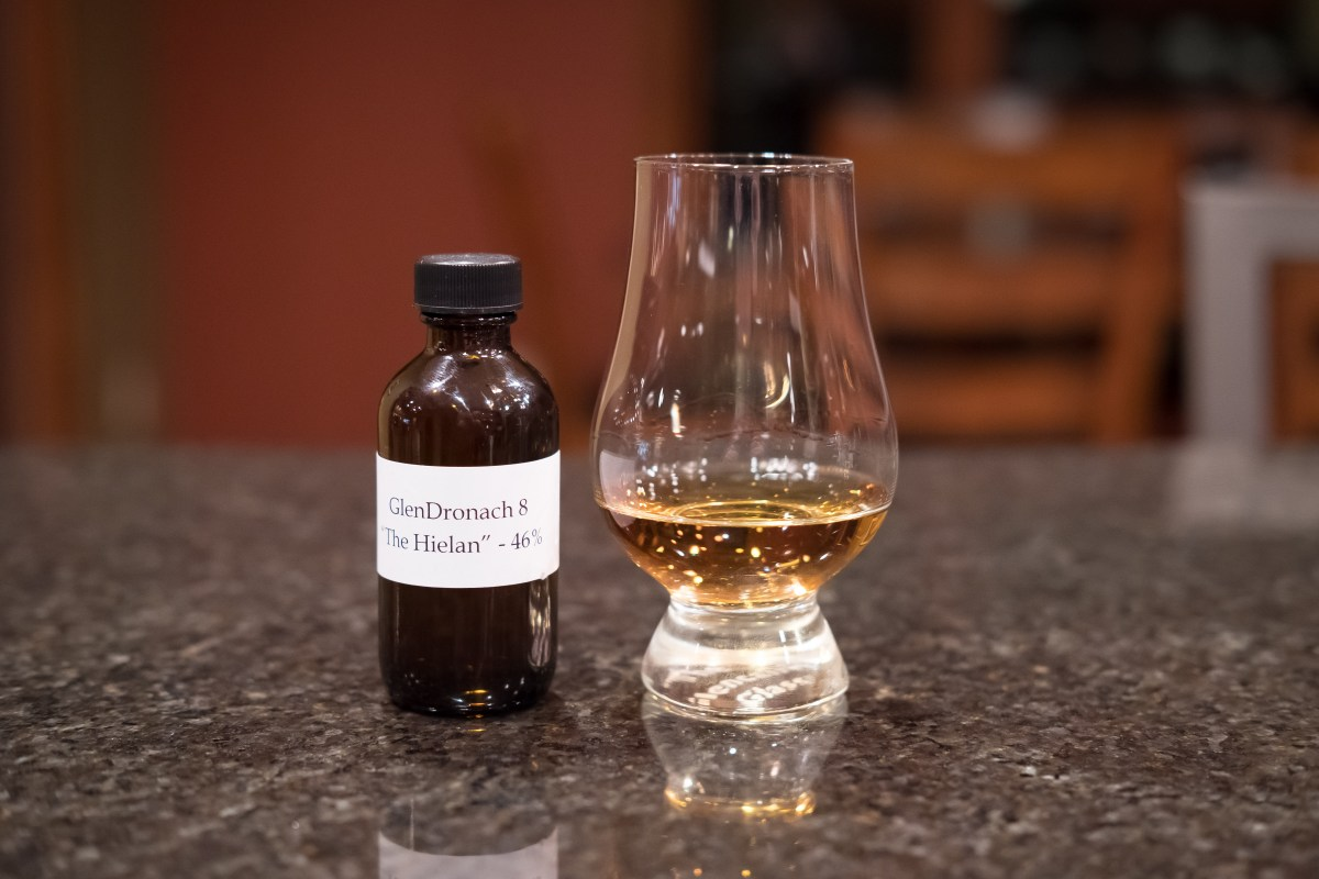 Glendronach 8 The Hielan Review