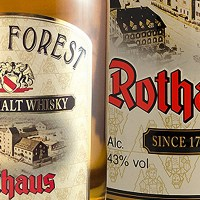 Black Forest Rothaus Single Malt Whisky 2017