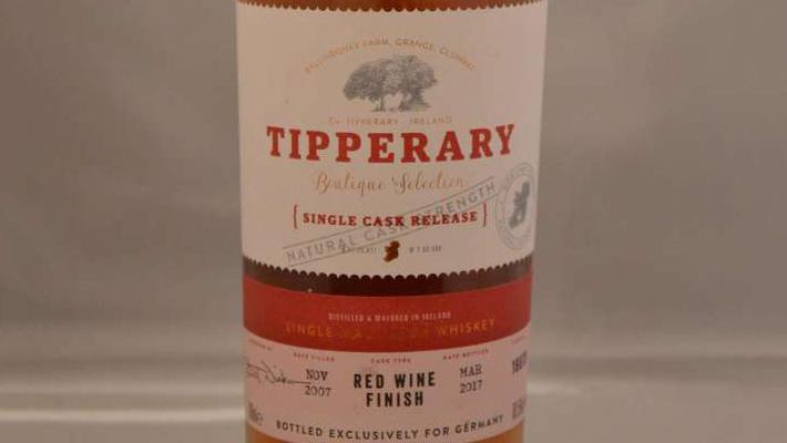 Neu: Tipperary Boutique Selection – erste Single Cask Abfüllung ab sofort erhältlich