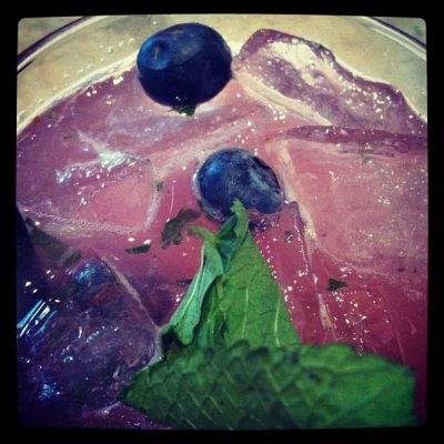 Blueberry Mojito Heaven
