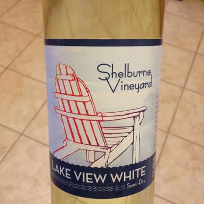 Shelburne Vineyard Lakeview White {Thirsty Thursday}
