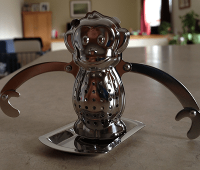 Kikkerland Monkey Tea Infuser {Wordless Wednesday}