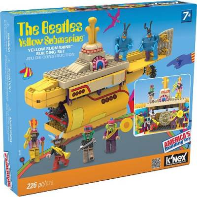 K'NEX Beatles Yellow Submarine™ Building Set {Review} #HH2013