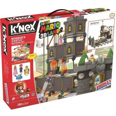 K'NEX Super Mario 3D Land™ Bowser's Castle Building Set {Review} #HH2013