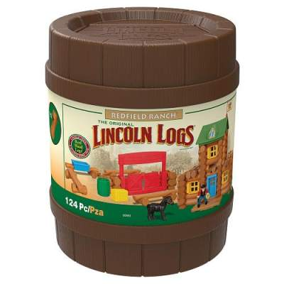 Lincoln Logs Redfield Ranch {Review} #HH2013