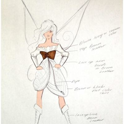Disney's Pirate Fairy Gets Designer Treatment
