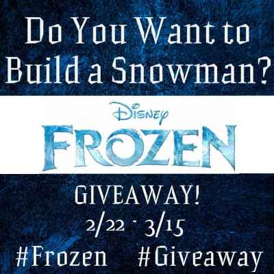 Do You Wanna to Build a Snowman? #DisneyFrozen #Giveaway