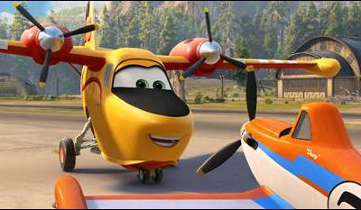 "PLANES: FIRE & RESCUE ""Courage"" Trailer Now Available"
