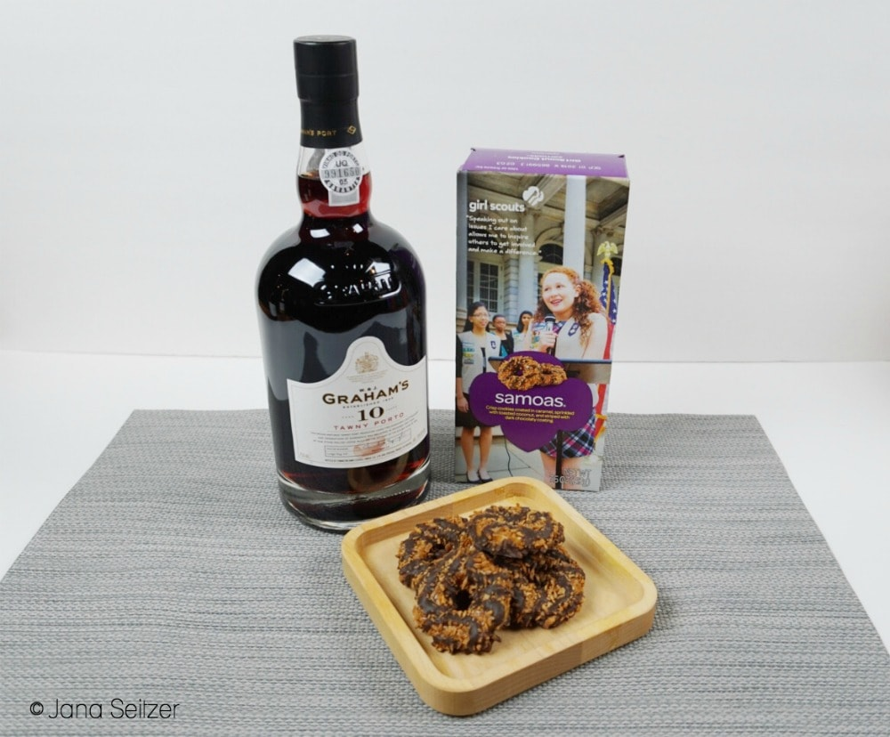 tawny port and samoas