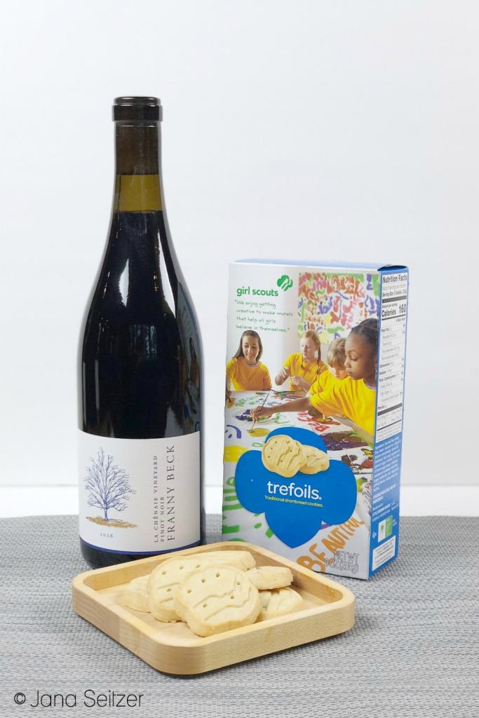 trefoils and pinot noir