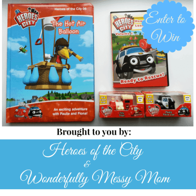 Heroes of the City #Giveaway