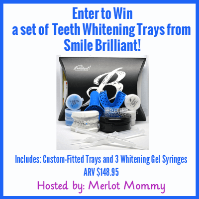 Enter to Win Smile Brilliant's Teeth Whitening Trays #Giveaway ends 6/22