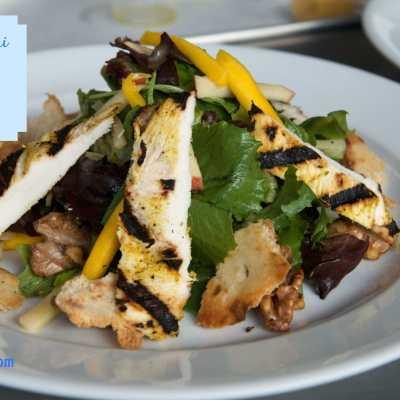 Parisian Mumbai Salad Recipe Inspired by #100FootJourneyEvent