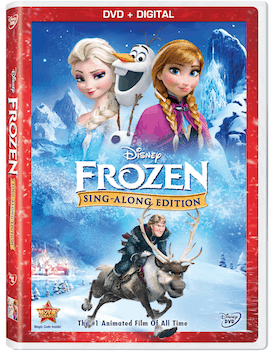 Disney Lights Up Your Holidays With An All-New DVD FROZEN Sing-Along Edition!