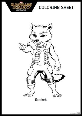 Free Activity Sheets: Guardians of the Galaxy #GuardiansoftheGalaxyEvent