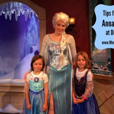 Tips for Meeting Anna and Elsa at Disneyland