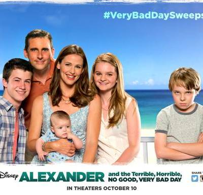 Alexander and the Terrible, Horrible, No Good, #VeryBadDay: Disney Aulani Sweepstakes & New Activity Sheets