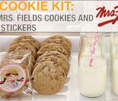 DIY Cookie Kit: Mrs. Fields Cookies at Birthday Express