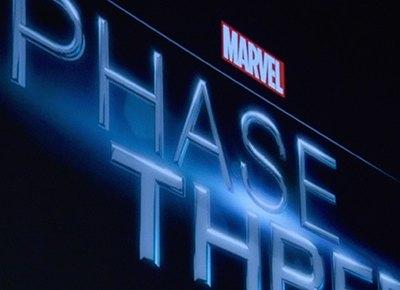MARVEL STUDIOS UNVEILS PHASE 3 OF MARVEL CINEMATIC UNIVERSE: New #Marvel Movie Dates