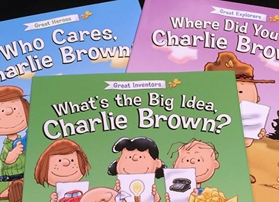 Charlie Brown Books from Little Patriot's Press #Peanuts #HH2014