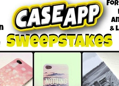 CaseApp Custom Laptop Skin Review and #Giveaway ends 12/19