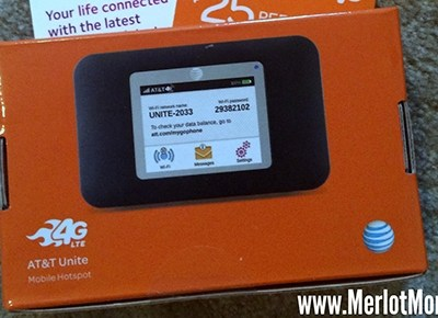 AT&T Unite for GoPhone by NETGEAR WiFi Hotspot #HH2014 #LifeConnected