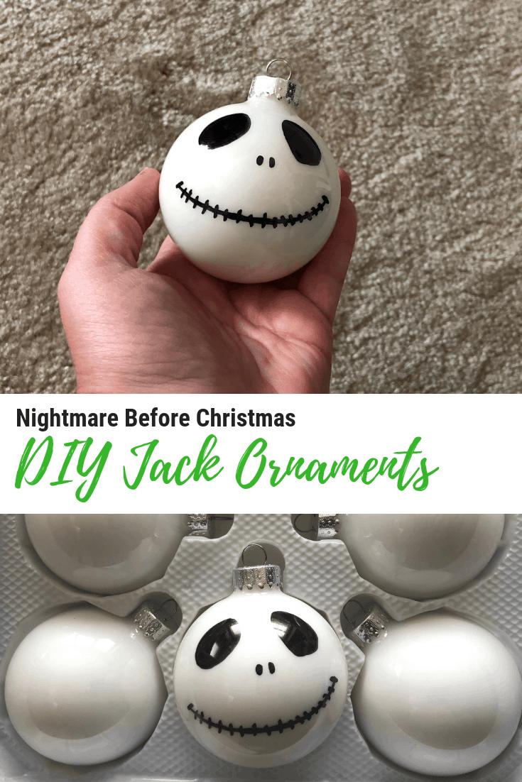 Diy Jack Skellington Ornaments Jackskellington Whisky