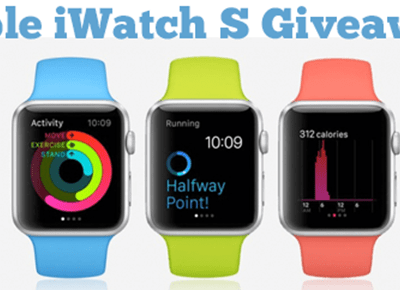 Enter to win an iWatch #Giveaway ends 4/20