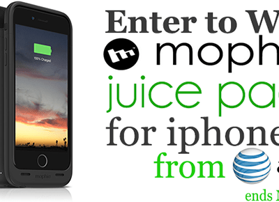 Enter to Win a MOPHIE Juice Pack From #ATTPortland #Giveaway ends 5/12
