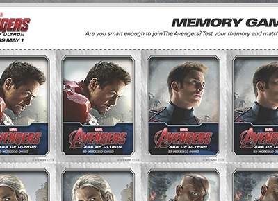 Free #Avengers: Age of Ultron Memory Game #AvengersAgeofUltron #AvengersEvent
