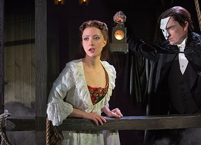 Exclusive Interview with Katie Travis as Christine Daaé in The Phantom of the Opera #PDX