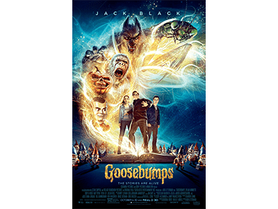 FREE MOVIE: Goosebumps October 14th in Portland