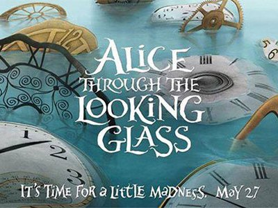 First Look: Alice Through The Looking Glass Trailer Released #DisneyAlice