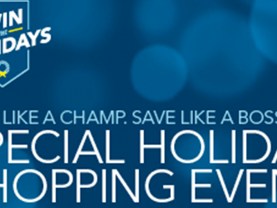 Visit the Best Buy Special Holiday Shopping Event on Saturday 11/7