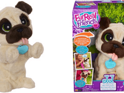FurReal Friends JJ My Jumpin' Pug Pet Plush