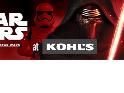 Get Your Star Wars Fix at Kohl's #ForceForKohls #StarWars