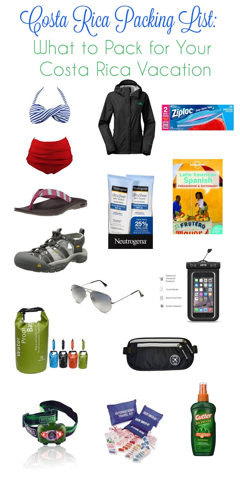 Costa Rica Packing List: What to Pack for Your Costa Rica Vacation