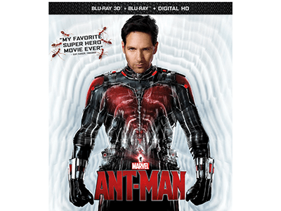 Ant-Man is Now Available on Blu-Ray and DVD