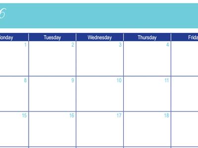 February 2016 Calendar: 30 Days of Free Printables