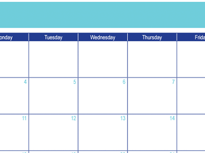 July 2016 Calendar: 30 Days of Free Printables