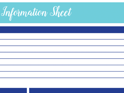 Pet Information Worksheet: 30 Days of Free Printables