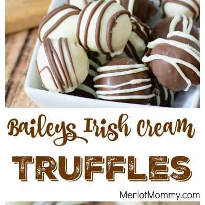 Baileys Irish Cream Truffles