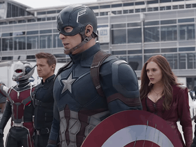 Marvel's Captain American: Civil War Big Game Spot