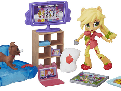My Little Pony Equestria Girls Minis Scene Pack and Dolls