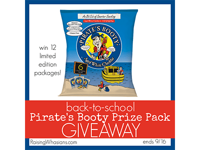 Pirate's Booty Giveaway