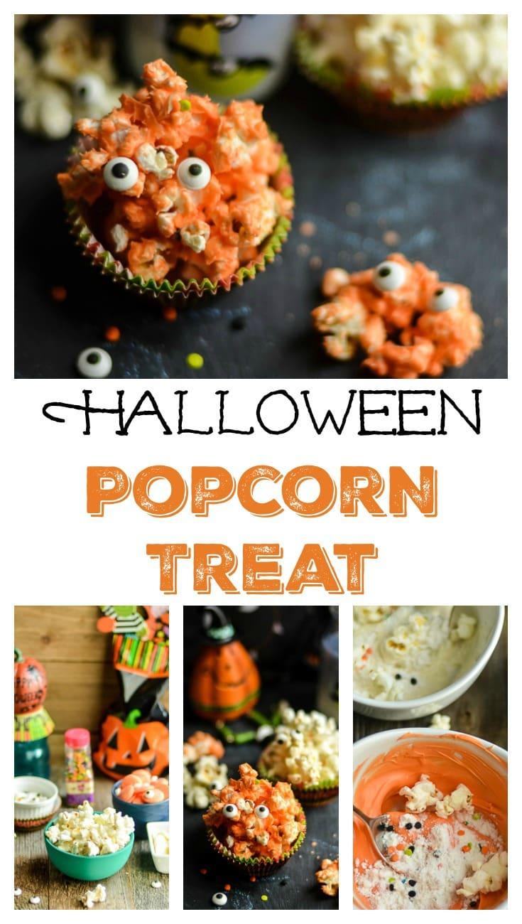 Halloween Popcorn Treats