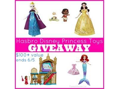 Enter to Win a Hasbro Disney Princess Toys Prize Pack – $100+ Value