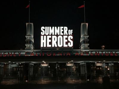 Experience Summer of Heroes – Disney California Adventure
